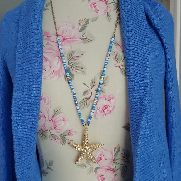Lilly Pulitzer Starfish Necklace